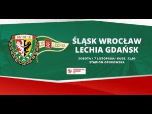Śląsk Wrocław – Lechia Gdańsk, CLJ U-18, 7.11.2020 | TRANSMISJA