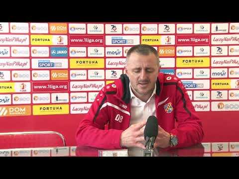 Konferencja prasowa po meczu Odra Opole – GKS Jastrzębie