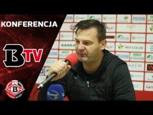 Konferencja prasowa po meczu Bytovia – Chojniczanka Chojnice (3:2)
