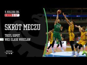 #9 SKRÓT: Trefl Sopot – WKS Śląsk Wrocław 79:60