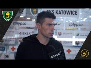 Grzegorz Pasiut po meczu GKS Katowice – TAURON Podhale Nowy Targ 2:0 (10 11 2020)