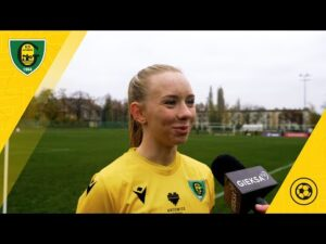 Zofia Buszewska po meczu Czarni Sosnowiec – GKS Katowice 1:1 (11 11 2020)