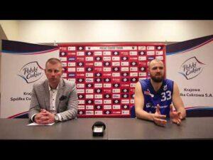 Konferencja po meczu Polski Cukier Toruń – Polpharma Starogard Gdański