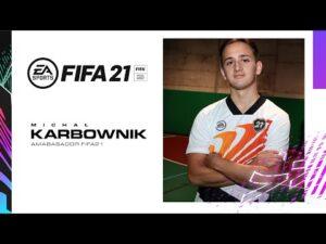 Michał Karbownik polskim ambasadorem gry FIFA 21!