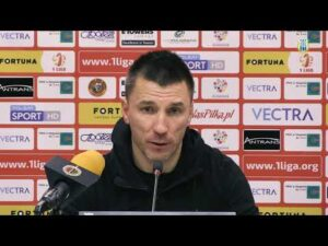 Konferencja po meczu Chrobry Głogów – Stomil Olsztyn 3:0 (13.11.2020 r.)