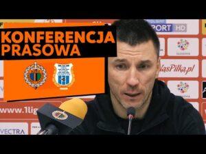 Konferencja prasowa po meczu Chrobry Głogów – Stomil Olsztyn