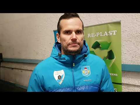 Michał Fikrt po meczu z Comarch Cracovią.