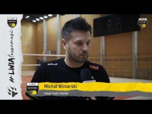 Read more about the article Michał Winiarski przed wyjazdem do Zawiercia | Trefl Gdańsk