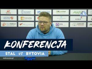 Konferencja po meczu Stal Rzeszów – Bytovia Bytów