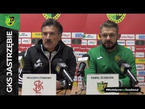 [GKS TV] Konferencja prasowa po meczu z ŁKS-em