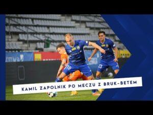 Miedź TV   Kamil Zapolnik po meczu z  Bruk – Betem