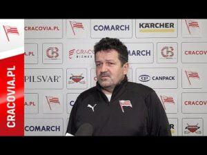 Rudolf Roháček po meczu z JKH GKS Jastrzębie (15.11.2020)
