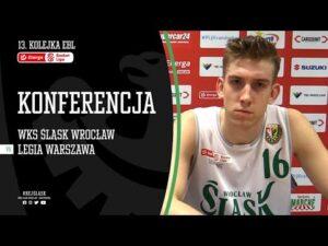 #13 Konferencja prasowa po meczu WKS Śląsk Wrocław – Legia Warszawa (15.11.2020 r.)
