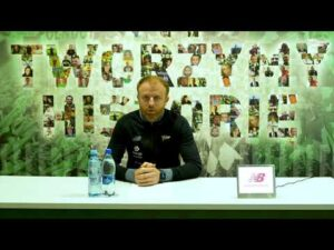 Konferencja prasowa Piotra Stokowca przed meczem z Olimpią Grudziądz