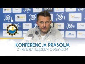 TV Stal: Konferencja prasowa z trenerem Leszkiem Ojrzyńskim