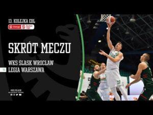 #13 SKRÓT: WKS Śląsk Wrocław – Legia Warszawa 73:68