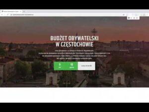 Budżet Obywatelski – instrukcja głosowania