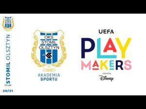 UEFA Playmakers w akademii Stomilu Olsztyn (16.11.2020 r.)