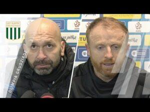 Konferencja prasowa po meczu 1/16 Fortuna Puchar Polski: Olimpia Grudziądz – Lechia Gdańsk 0:1