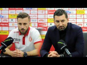 2020-11-18 Resovia – Sandecja 0-0, pomeczowa konferencja prasowa