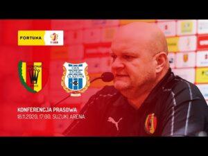 Konferencja prasowa po meczu Korona Kielce – Stomil Olsztyn (18.11.2020)