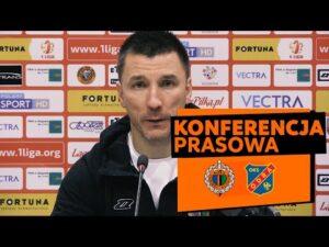 Konferencja prasowa po meczu Chrobry Głogów – Odra Opole