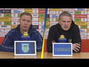 Arka Gdynia – Zagłębie Sosnowiec 2-0: Konferencja prasowa