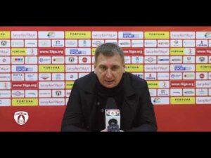 Szkoleniowiec Górnika Łęczna po porażce z Puszczą | PUSZCZA TV