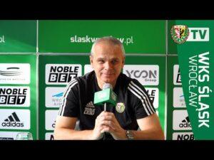 Konferencja prasowa przed meczem z Lechią