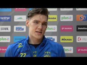 Read more about the article Bartłomiej Lemański po meczu z Asseco Resovią Rzeszów | #STALNYSA