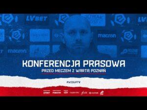 Konferencja prasowa przed meczem z Wartą Poznań (19.11.2020)