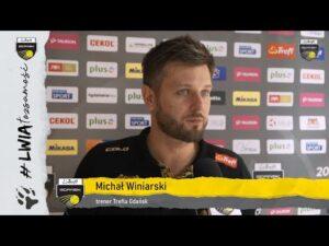 Trener Michał Winiarski po meczu z Grupą Azoty ZAKSĄ | Trefl Gdańsk