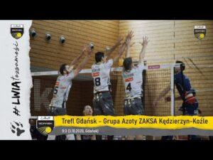 #gdańskielwy w równej walce z liderem PlusLigi | Trefl Gdańsk