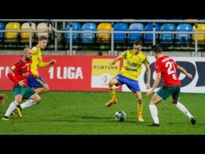 Arka Gdynia – Zagłębie Sosnowiec 2-0: Skrót