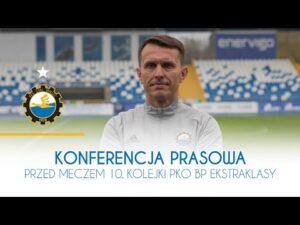 TV Stal: Konferencja prasowa przed meczem 10. kolejki PKO BP Ekstraklasy