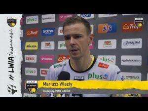 Michał Winiarski i Mariusz Wlazły po meczu z Jastrzębskim Węglem | Trefl Gdańsk
