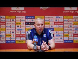 Konferencja po meczu Bruk-Bet – Widzew 2-0