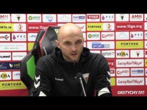 13. kolejka Fortuna1Liga: Konferencja prasowa po meczu GKS Tychy – Miedź Legnica 0:2