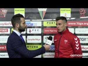 13. kolejka Fortuna1Liga: Opinia Damiana Nowaka po meczu GKS Tychy – Miedź Legnica 0:2