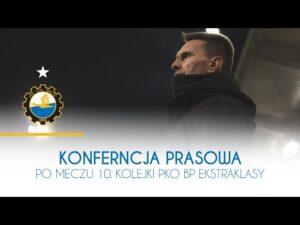 Read more about the article TV Stal:  Konferencja prasowa po meczu 10. kolejki PKO BP Ekstraklasy
