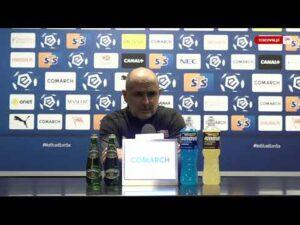 Konferencja po meczu Cracovia – Legia Warszawa (22.11.2020)