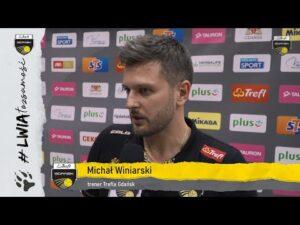 Kewin Sasak i Michał Winiarski po wygranej 3:0 z Asseco Resovią Rzeszów | Trefl Gdańsk
