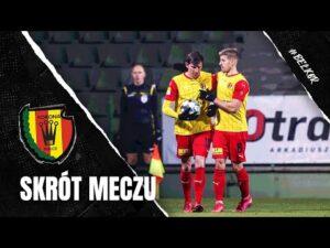 Skrót meczu GKS Bełchatów – Korona Kielce 0:1 (21.11.2020)