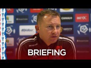 Briefing prasowy trenera Brede przed meczem z Zagłębiem Lubin