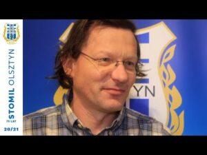 Marek Brdak (kierownik drużyny) po awansie do Centralnej Ligi Juniorów (24.11.2020 r.)