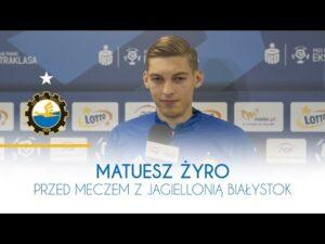 TV Stal: Mateusz Żyro przed meczem z Jagiellonią Białystok