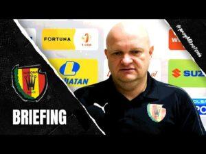 Trener Bartoszek przed meczem z Resovią Rzeszów (26.11.2020)