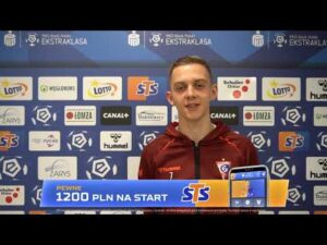 Michał Rostkowski przed meczem z Pogonią Szczecin