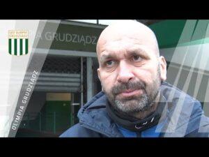 Read more about the article Trener Olimpii Grudziądz Paweł Cretti przed meczem z Garbarnią Kraków