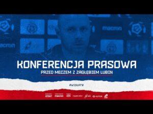 Konferencja prasowa przed meczem z Zagłębiem Lubin (27.11.2020)